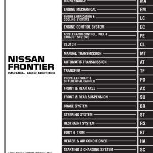 1996 nissan pathfinder repair manual pdf