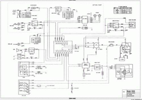 Doosan Dx300lc Dx340lc Excavator Electrical Hydraulic Schematics Manual Instant Download