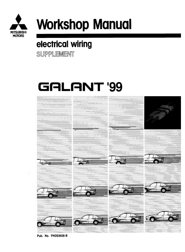 1999 Mitsubishi Galant Electrical Wiring Diagram Download