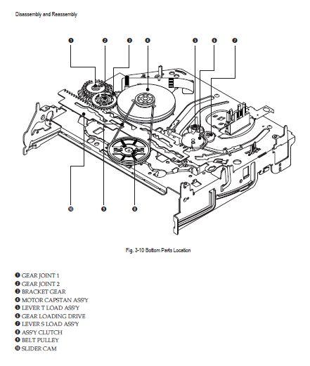 SAMSUNG DVD-VR375 DVD-VCR RECORDER SERVICE MANUAL