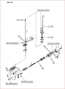 Yamaha 6 8hp 2 stroke Outboards Repair Manual 1984-1993