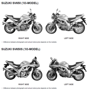 SUZUKI VZ800 MARAUDER 1997-2004 WORKSHOP SERVICE MANUAL