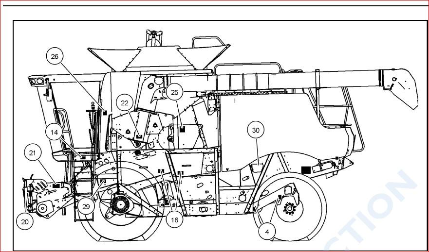 Case Ih Axial Flow 5088 6088 7088 Combine Operators Manual