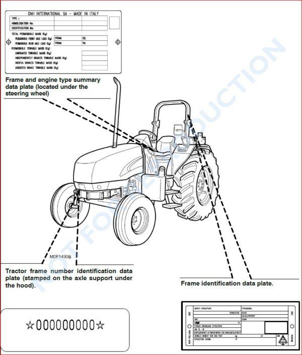 CASE IH JX1080U JX1090U JX1100U TRACTOR OPERATORS MANUAL