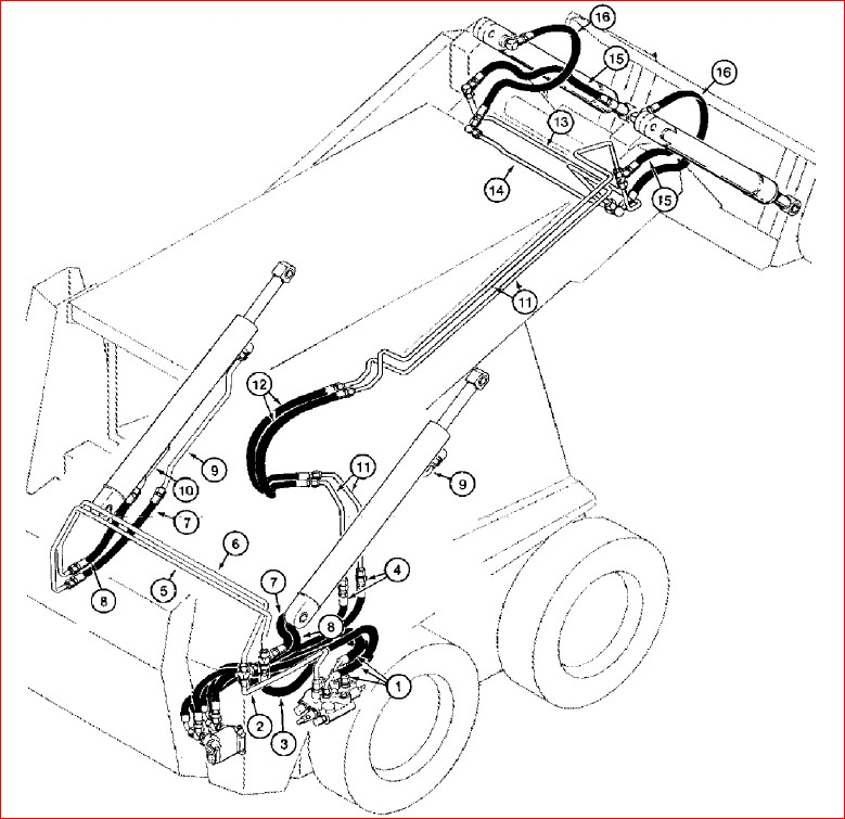 Case 1838 Skid Steer Loader Parts Catalog Manual-PDF