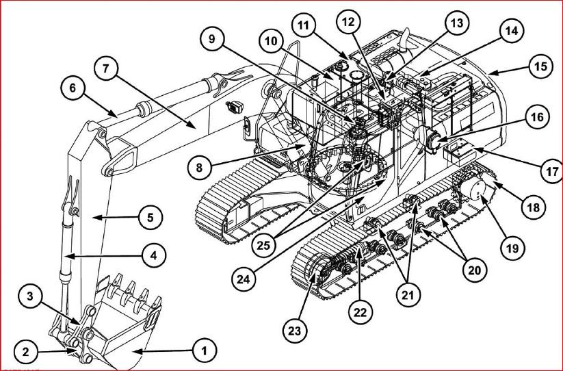 Case Cx160c Tier 4 Crawler Excavator Operators Manual