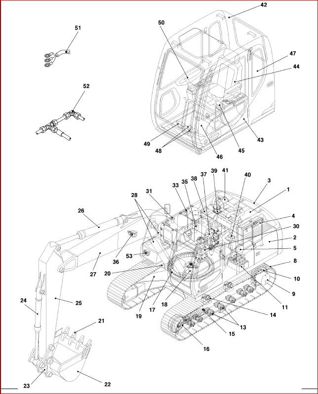 Case Cx210 CRAWLER Excavator Parts Catalog Manual-PDF