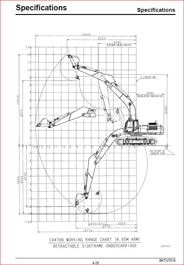Download Case Cx470b Hydraulic Excavator Operators Manual