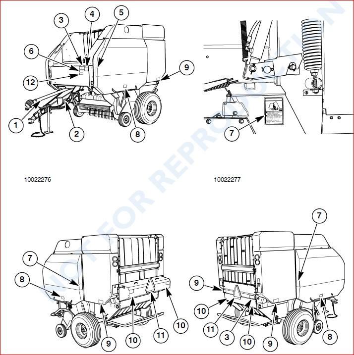 Case Ih Rbx452 Rbx462 Rbx552 Rbx562 Round Baler Operators