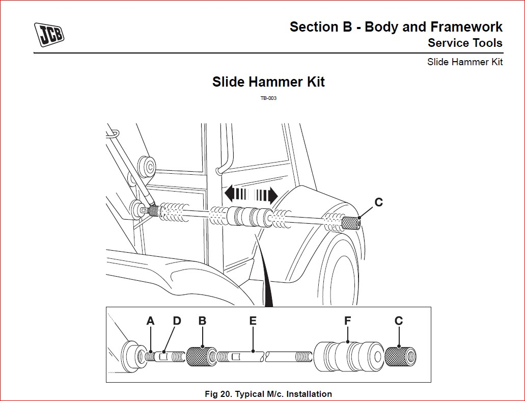 JCB Midi CX Backhoe Loader Service Repair Workshop manual