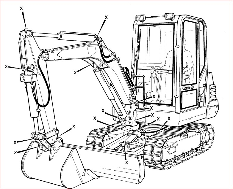 Jcb 802 7 803 804 Mini Crawler Excavator Service Manual