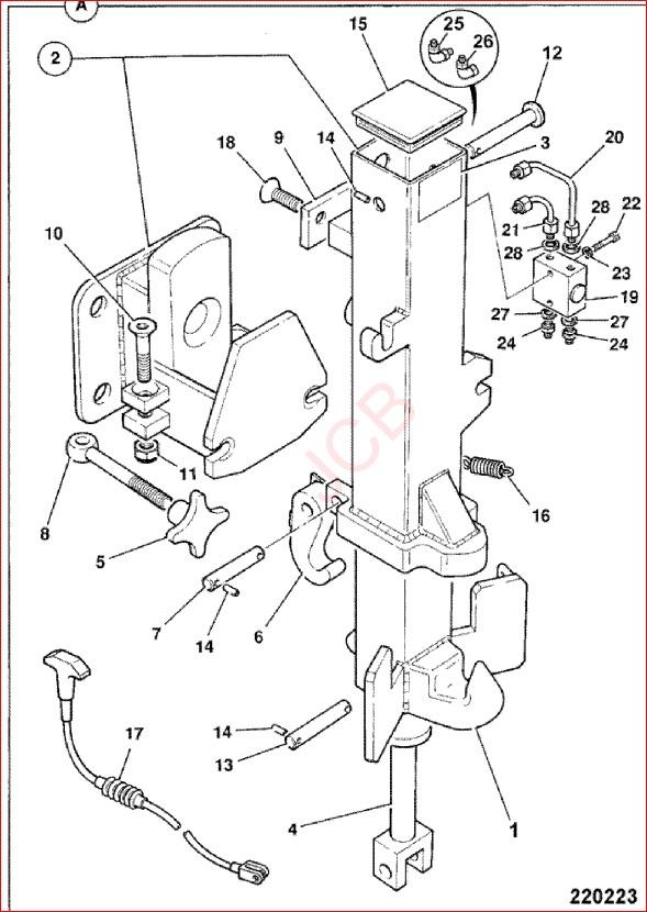 Jcb Tm300 Telemaster Wheel Loader Parts Catalog Manual