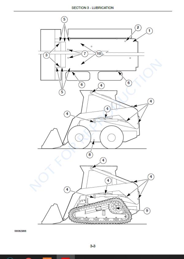 new holland l180 l185 l190 skid steer loader c185 c190