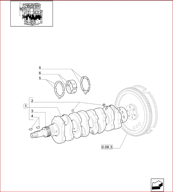 New Holland Tn95f Orchard Tractor Master Illustrated Parts