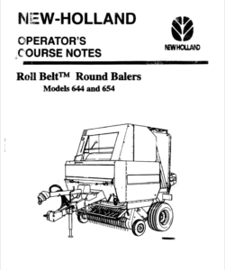 New Holland Rool Belt Bailer Models 664 And 665 Parts