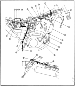 1987-1999 Yamaha Trailway Tw200 Service Manual Repair