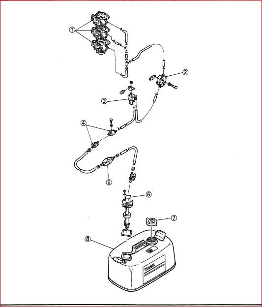 1989 Yamaha 90 Etlf Outboard Service Repair Maintenance