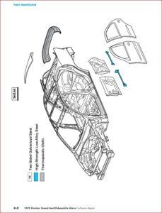 1990-2004 Pontiac Grand Am Collision Repair Manual Instant