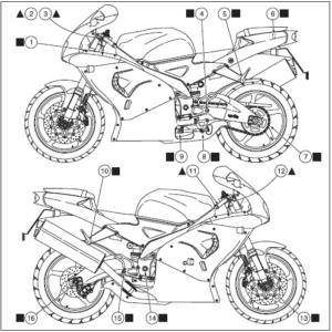1998-2004 APRILIA RSV MILLE MOTORCYCLE SERVICE REPAIR