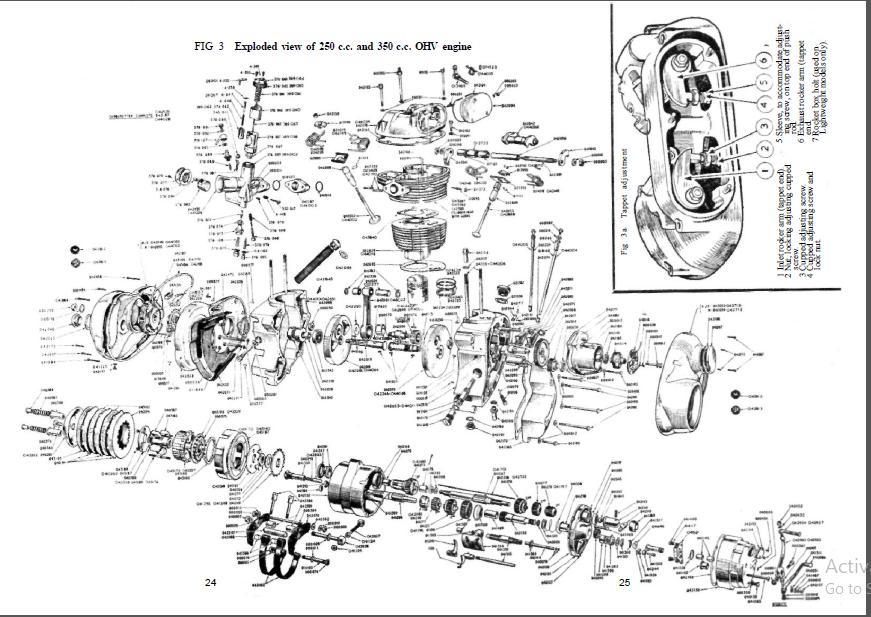 Ajs 16 16s 16c 16cs 16ms 16mc 16mcs 1957 1966 Service