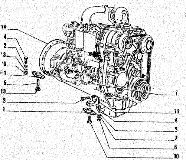 Allis Chalmers Fiat Fl14e Crawler Loader Parts Manual