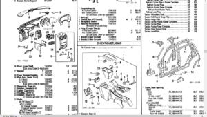 Chevy Trailblazer Parts Manual Catalog Download 2002-2006