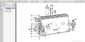 Deutz Mwm D 226-6 D266 Diesel Engine Parts Manual.PDF