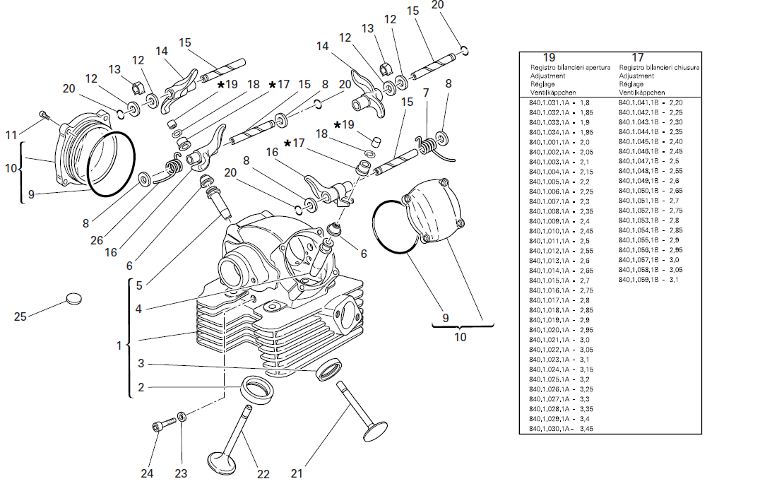 Ducati Sportclassic Sport 1000s Parts Manual Catalogue