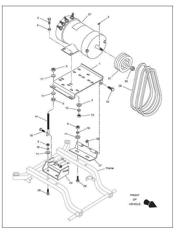 EZ GO Chushman UtilityService Manual TUG 2006 Electric