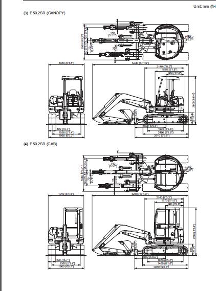 Fiat Kobelco Service E40 2sr E45 2sr Evolution Shop Manual