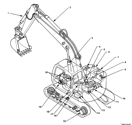 Hitachi Ex135usr Excavator Service Repair Workshop Manual