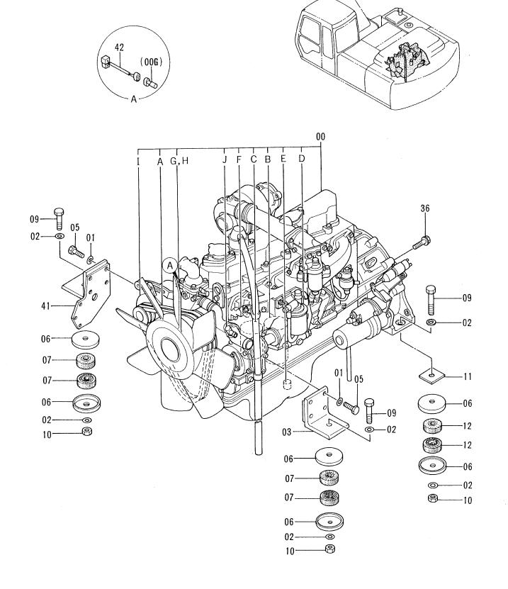 Hitachi Ex220 3 Ex220lc 3 Excavator Parts Catalog Manual