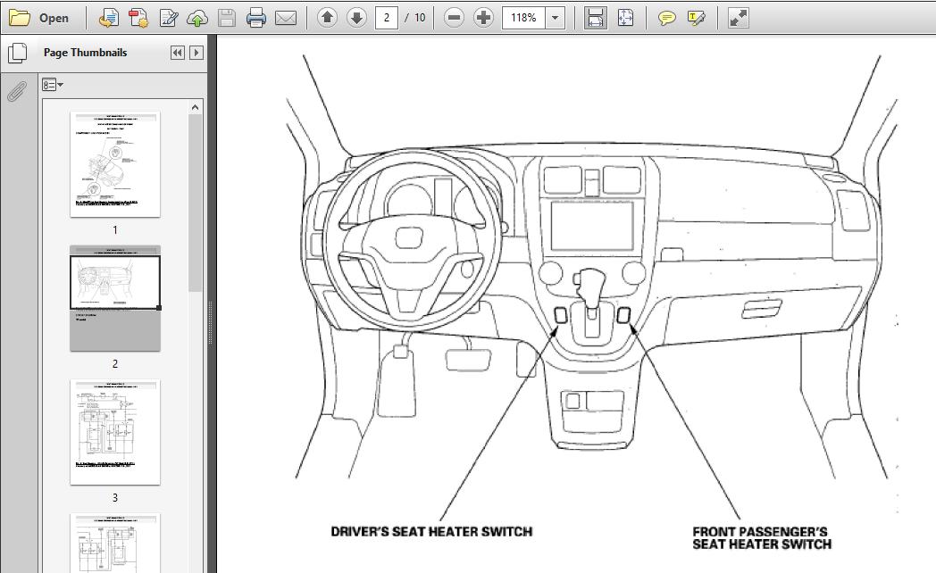 2005 Honda Crv Workshop Manual