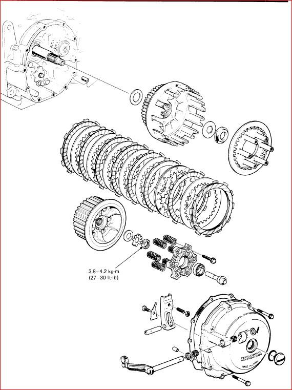 Honda Cb900c Cb900f Service Repair Workshop Manual ...