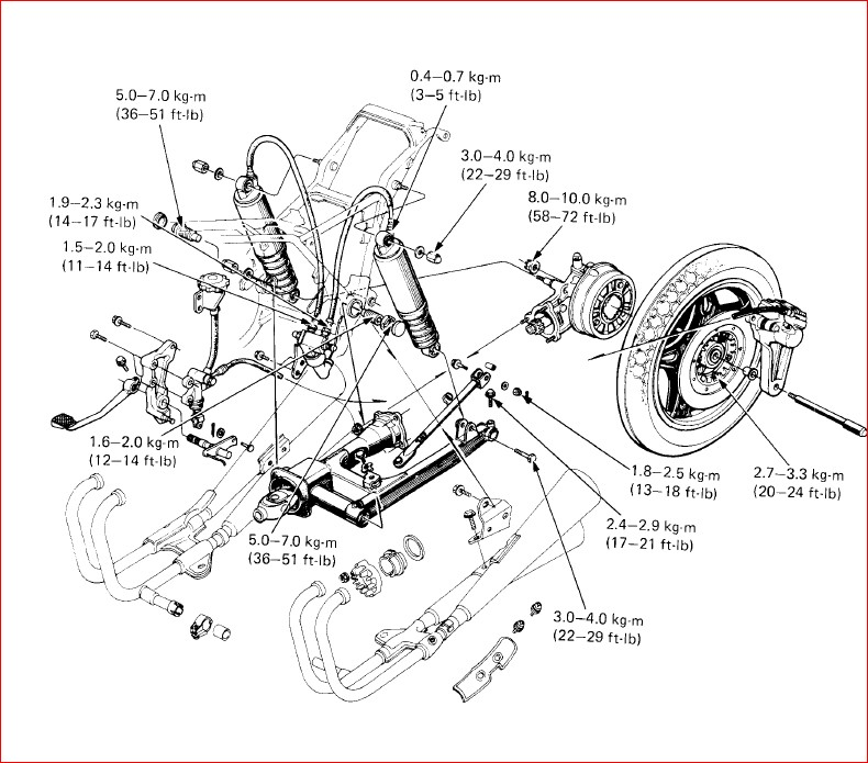 Honda Cb900c Cb900f Service Repair Workshop Manual
