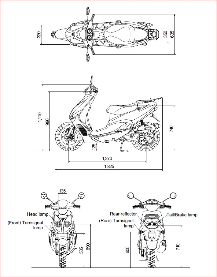 Hyosung Prima Sf50 Sf 50 Factory Service Repair Manual