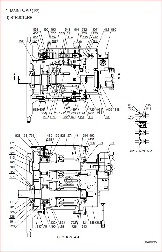 Hyundai R210w 9 Wheel Excavator Service Repair Manual