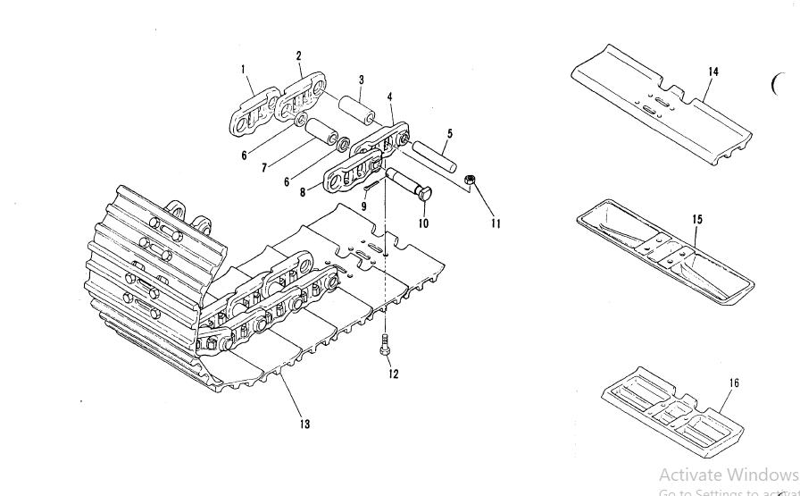 Koehring Hydraulic Excavator 6612 Parts Manual-PDF