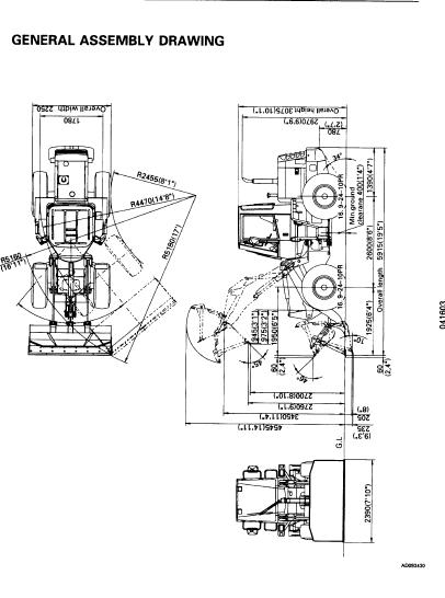Komatsu Wa120 3 Wa120 3a Wheel Loader Service Repair
