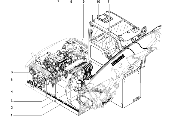 Liebherr A924c Litronic A924c hd Litronic Hydraulic