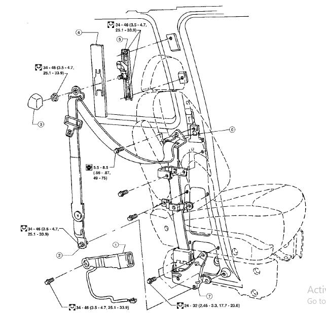 Mercury Villager 1996-1997 Workshop Repair Service Manual