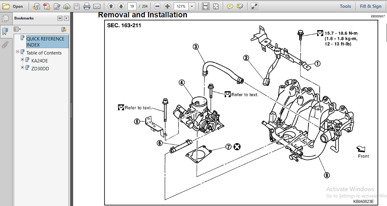 Nissan Zd30dd Ka24de Engine Workshop Repair Manual ~ Hey