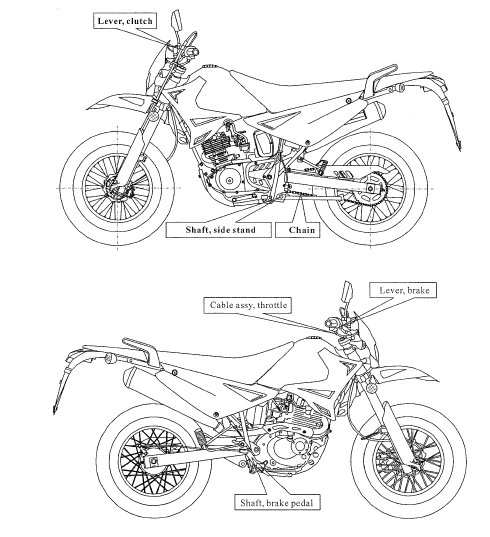 Qlink Xf200 Xp200 Motorcycle Digital Workshop Repair Manual Guide