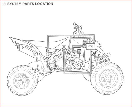 Suzuki Lt R450 Ltr450 2004