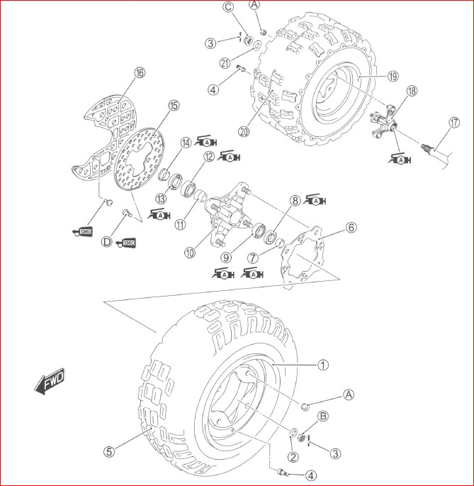 Suzuki Lt r450 Ltr450 2004-2009 Factory Service Manual