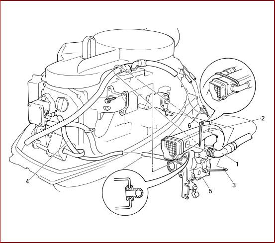 Yamaha 20hp 25hp 4 Stroke Outboard Motor Shop Manual 1996