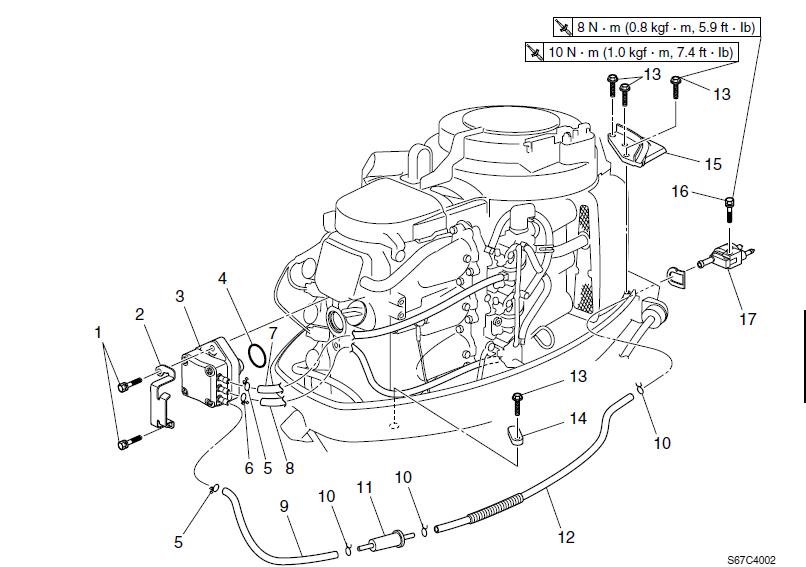 Yamaha Four-stroke Jet Drive Factory Service Repair