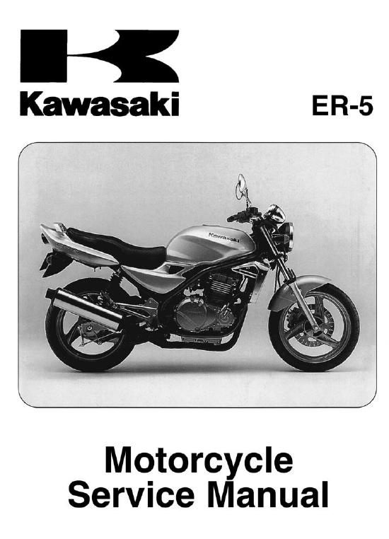 Kawasaki Er5 Workshop Repair Manual