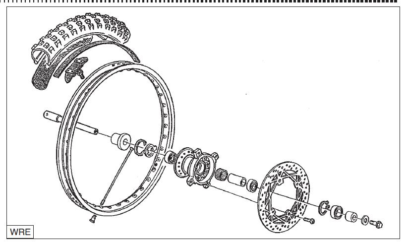 2004 Husqvarna Husky Wre 125 Sms 125s Workshop Manual