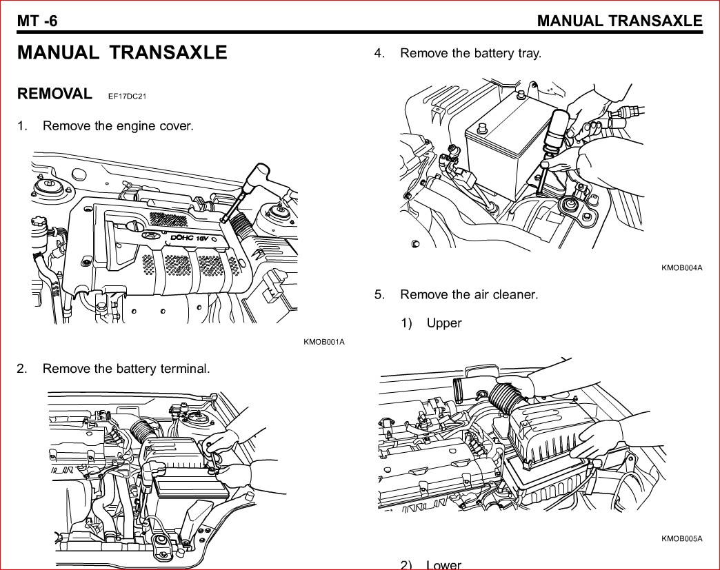 2006 Hyundai Tiburon Service Repair Manual- Download